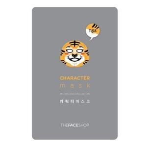 THE FACE SHOP/ザフェイスショップ/キャラクターマスク【トラ】/弾力/保湿/乾燥肌/マスクシート/韓国コスメ