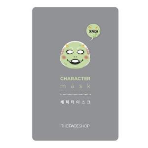 THE FACE SHOP/ザフェイスショップ/キャラクターマスク【ドラゴン】/弾力/保湿/乾燥肌/マスクシート/韓国コスメ