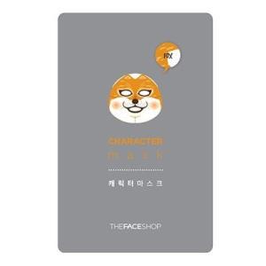 THE FACE SHOP/ザフェイスショップ/キャラクターマスク【キツネ】/弾力/保湿/乾燥肌/マスクシート/韓国コスメ