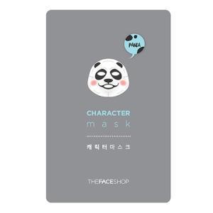 THE FACE SHOP/ザフェイスショップ/キャラクターマスク【パンダ】/弾力/保湿/乾燥肌/マスクシート/韓国コスメ