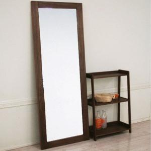 スタンドミラー emo 高さ180cm エモ 全身 姿見 鏡 木製 送料無料|honeycomb-room
