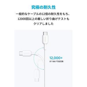 Anker PowerLine II USB-C & USB-C 2.0 ケーブル (1.8m ホワ...