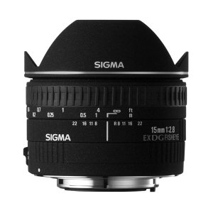 SIGMA 単焦点魚眼レンズ 15mm F2.8 EX DG DIAGONAL FISHEYE キヤ...