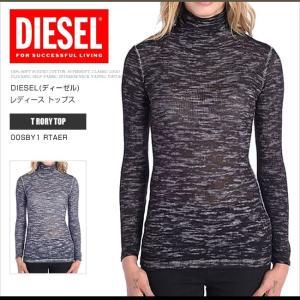ディーゼル DIESEL ロンT ロングTシャツ レディース...