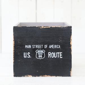 木製 小物入れ おしゃれ ジャンクルートスクエアボックス(Sサイズ)ブラック|honeymint