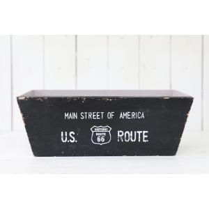 木製 小物入れ おしゃれ ジャンクルートワイドボックス(Sサイズ)ブラック|honeymint
