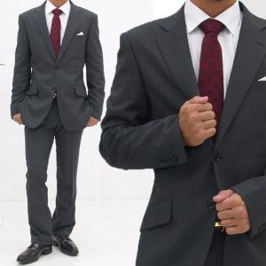 メンズ スーツ おしゃれビジネススーツ ジャケット スラックス フォーマル 結婚式 入学 社会人 メンズスーツ アジャスター付き 2つボタン シングル ローライズ|honeyondays