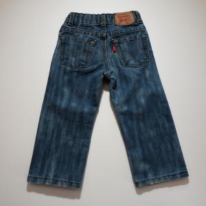 リーバイス 505 キッズジーンズ 品番505  ウエストにアジャスターが付いておりサイズ調整可能。...