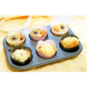 ベイクウェアー マフィンパンケーキ型 6P|honeyware
