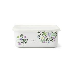 ホーロー アンナエミリア Anna Emilia 富士ホーロー 深型容器L ハニーウェア オーブン調理対応 琺瑯 保存容器 おしゃれ かわいい シンプル 安心のメーカー直販|honeyware