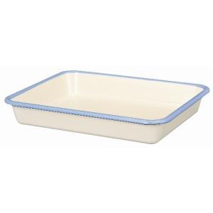 【安心のメーカー直販】バット 富士ホーロー ハニーウェア ホーローバットLL (15取) 料理 下ごしらえ シンプル シンプル|honeyware