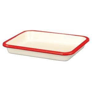 【安心のメーカー直販】バット 富士ホーロー ハニーウェア ホーローバットS (30取)ホワイト 料理 下ごしらえ シンプル キッチン雑貨 ホーロー雑貨|honeyware