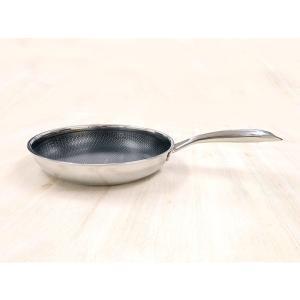 スイスダイヤモンド ベーシックフライパン20cm 浅型 ガス火 IH対応|honeyware