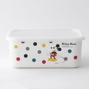 【安心のメーカー直販】Disney 富士ホーロー ディズニー深型角容器L ハニーウェア オーブン調理対応 キッチン雑貨 琺瑯 容器 ホーロー容器  disney_y|honeyware