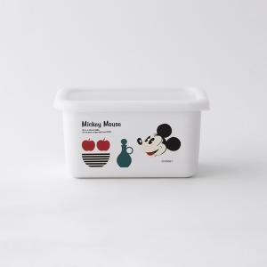 【安心のメーカー直販】Disney 富士ホーロー ディズニー深型角容器S ハニーウェア オーブン調理対応 ホーロー容器 ストッカー キッチン用品 disney_y|honeyware