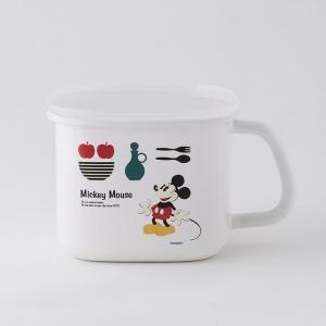 【安心のメーカー直販】富士ホーロー ハニーウェア デ ィズニー 角みそポット disney_ y|honeyware