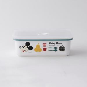 【安心のメーカー直販】Disney ディズニーランチボックスM  富士ホーロー ハニーウェア 密閉 弁当箱 グッズ disney_y|honeyware