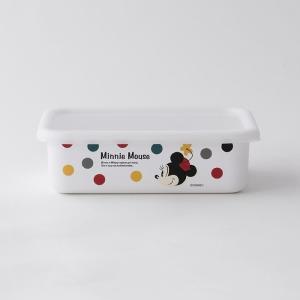 【安心のメーカー直販】Disney 富士ホーロー ディズニー浅型角容器M ハニーウェア オーブン調理対応 ホーロー雑貨 キッチン用品disney_y|honeyware