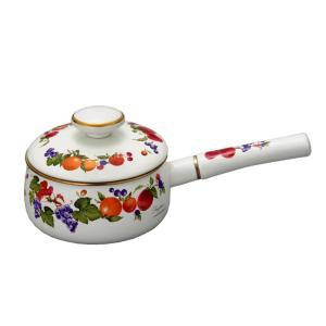 送料無料 富士ホーロー ハニーウェア フルータスコレクション 16cm 片手鍋|honeyware
