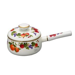 送料無料 富士ホーロー ハニーウェア フルータスコレクション 18cm 片手鍋|honeyware