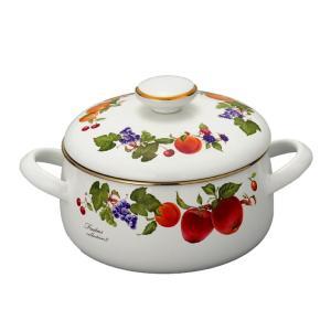 【安心のメーカー直販】送料無料 富士ホーロー ハニーウェア フルータスコレクション 20cm 両手鍋|honeyware