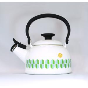【安心のメーカー直販】ケトル 富士ホーロー ハニーウェア 1.6L 笛吹き ケトル リーフシリーズ キッチン雑貨 オシャレ シンプル やかん|honeyware