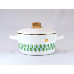 【安心のメーカー直販】両手鍋 富士ホーロー ハニーウェア 20cm 両手鍋 シンプル リーフ キッチン雑貨 おしゃれ|honeyware
