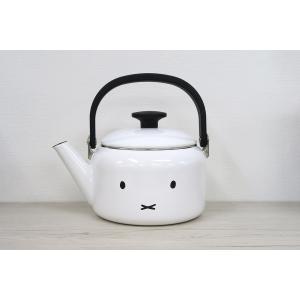 琺瑯 ほうろう 富士ホーロー ハニーウェア ミッフィーフェイス 2.0Lケトル かわいい シンプル ミッフィー キッチン用品 雑貨 安心のメーカー直販|honeyware