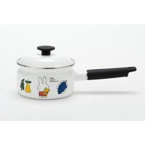 送料無料 富士ホーロー ハニーウェア ミッフィー 16cm 片手鍋 |honeyware