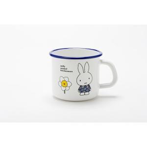 【安心のメーカー直販】富士ホーロー ハニーウェア ミッフィー 9cm マグカップ 1|honeyware