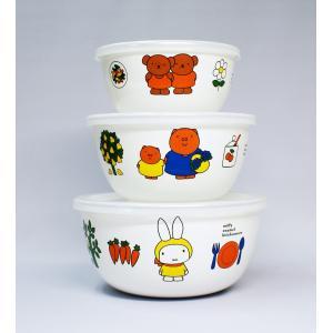 【安心のメーカー直販】【生産終了の為在庫限りです!】ミッフィー 14・16・18cm ボールセット|honeyware