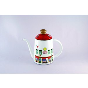 ホーロー ケトル 富士ホーロー ハニーウェア メリーシリーズ 11cm ケトル ショップ 赤 レッド 雑貨 琺瑯 やかん 安心のメーカー直販|honeyware