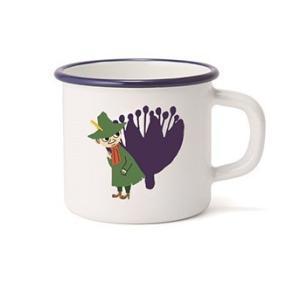 【安心のメーカー直販】マグカップ 富士ホーロー ハニーウェア キッチン雑貨 ムーミン&フラワー 7cmマグ3 スナフキン キッチン グッズ MOOMIN|honeyware