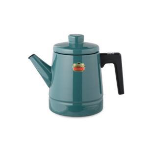【安心のメーカー直販】送料無料 富士ホーロー ハニーウェア ソリッド 1.6Lコーヒーケトル IH200V ドリップポット 白 赤 緑 青 シンプル|honeyware