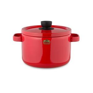 【安心のメーカー直販】送料無料 両手鍋 富士ホーロー ハニーウェアソリッドシリーズ 22cmキャセロール ホーロー鍋 調理器具 両手鍋 白 赤 緑 シンプル|honeyware