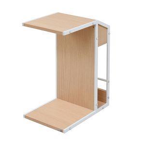 Rita サイドテーブル ナイトテーブル ソファ 北欧 テイスト 木製 金属製 スチール 北欧風ソファサイドテーブル おしゃれ 可愛い[18] honkeya