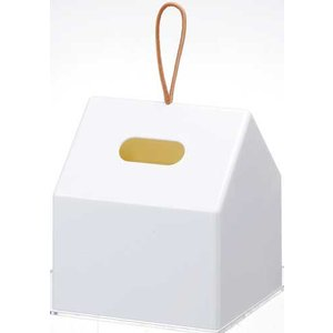 ロールティッシュペーパーボックス ホワイト 【代引不可】 [01]|honkeya