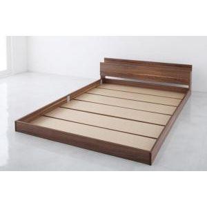 棚・コンセント付きフロアベッド W.coRe ダブルコア ベッドフレームのみ シングル[00]|honkeya