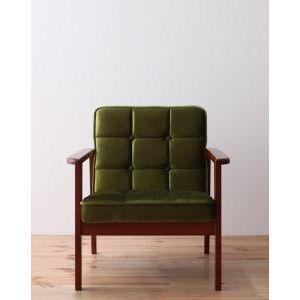 木肘レトロソファ【MORNEY】モーニー 1P [00]|honkeya