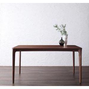 天然木ウォールナット無垢材ダイニング【Kate】ケイト/テーブル(W150)[L][00] honkeya