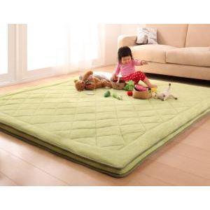 スーパーふかふかラグ【famile】ファミレ 190×190cm[L][00] honkeya