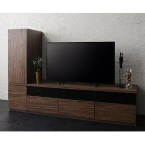 キャビネットが選べるテレビボードシリーズ add9 アドナイン 2点セット(テレビボード+キャビネット) 木扉 W140[00]|honkeya