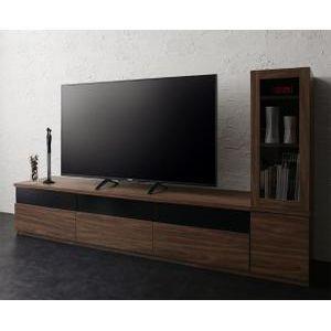 キャビネットが選べるテレビボードシリーズ add9 アドナイン 2点セット(テレビボード+キャビネット) ガラス扉 W180[00]|honkeya