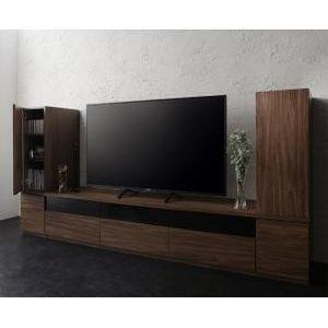 キャビネットが選べるテレビボードシリーズ add9 アドナイン 3点セット(テレビボード+キャビネット×2) 木扉 W180[00]|honkeya