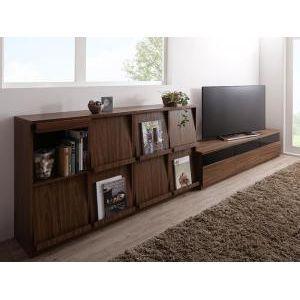 リビングボードが選べるテレビ台シリーズ TV-line テレビライン 3点セット(テレビボード+フラップチェスト×2) 幅180[L][00] honkeya