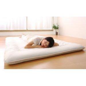 テイジン V-Lap使用 日本製 体圧分散で腰にやさしい 朝の目覚めを考えた超軽量・高弾力敷布団 セミダブル[4D][00]|honkeya