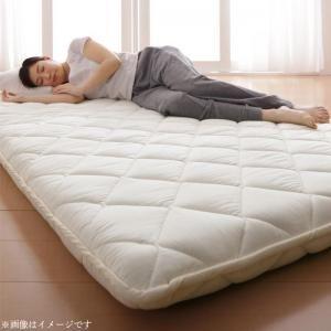 テイジン V-Lap使用 日本製 朝の目覚めを考えた 腰にやさしい 高弾力四層敷き布団 セミダブル[4D][00]|honkeya
