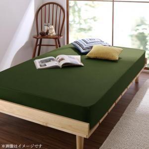 ショート丈専用 お買い得綿混パッド・シーツ ベッド用ボックスシーツ 1枚 セミシングル ショート丈[00]|honkeya