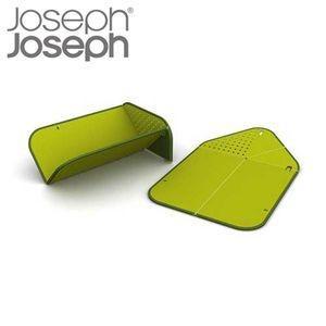JosephJoseph(ジョゼフジョゼフ) リンスアンドチョップ まな板 グリーン【代引不可】 [01]|honkeya