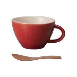 ほっくり スープカップ レッド [01]|honkeya